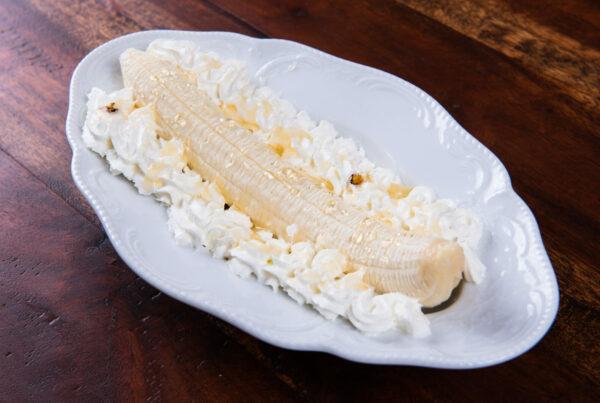 Truffle Banana Split