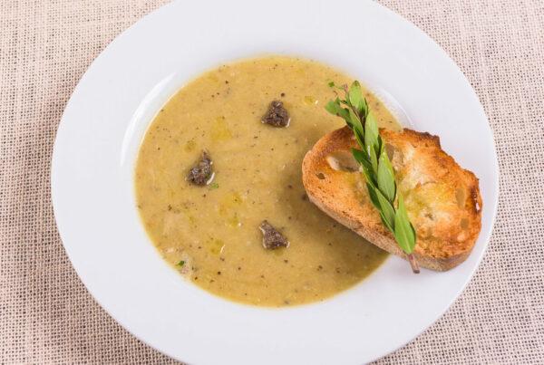 Zuppa di Patate e Tartufo