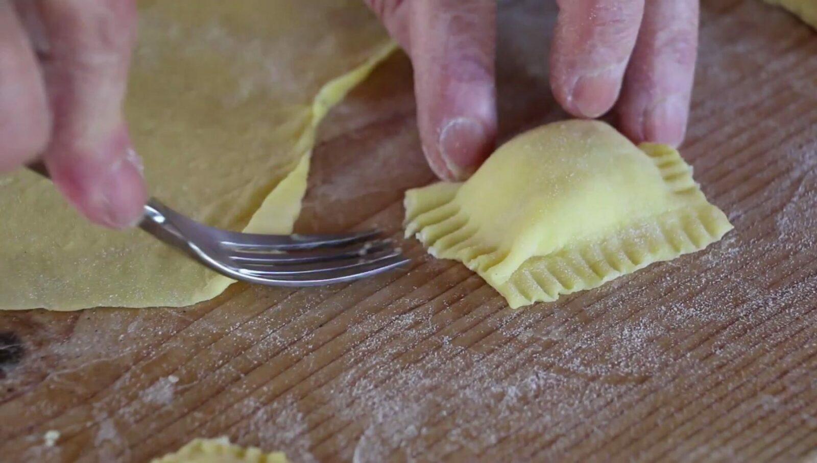 How to Make Ravioli with Black Truffle