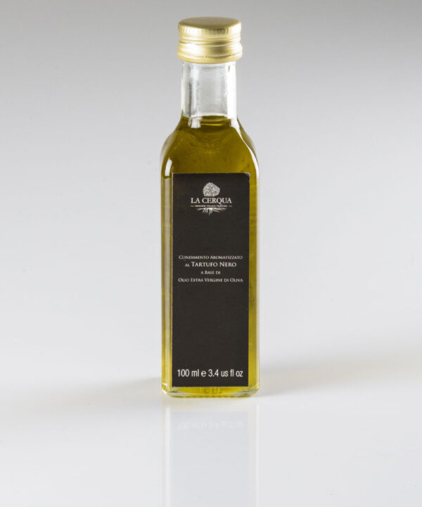 Olio Extravergine di Oliva infuso al Tartufo Nero