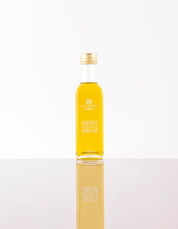 Extra Virgin Olive Oil Infused with White Truffles