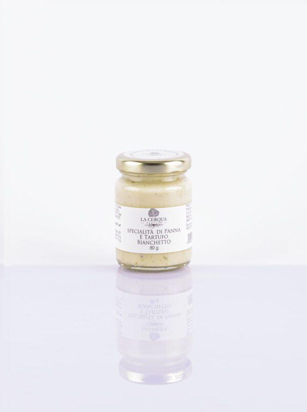 Cream and White truffle