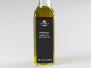 Extra Virgin Olive Oil Infused with Black Truffles