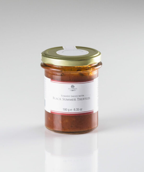 Tomato sauce with Black Summer Truffles