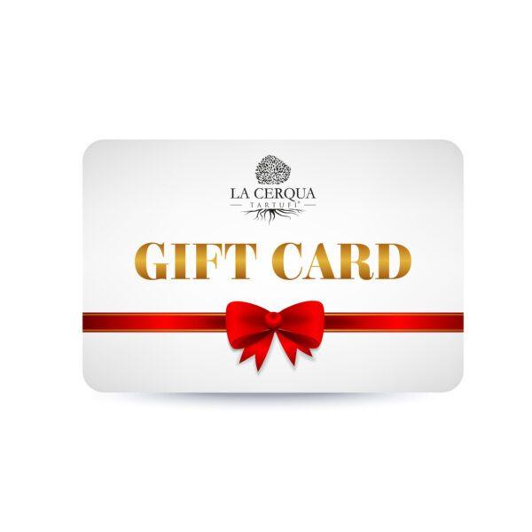 Gift Card White